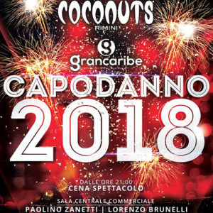 Coconuts Capodanno 2018