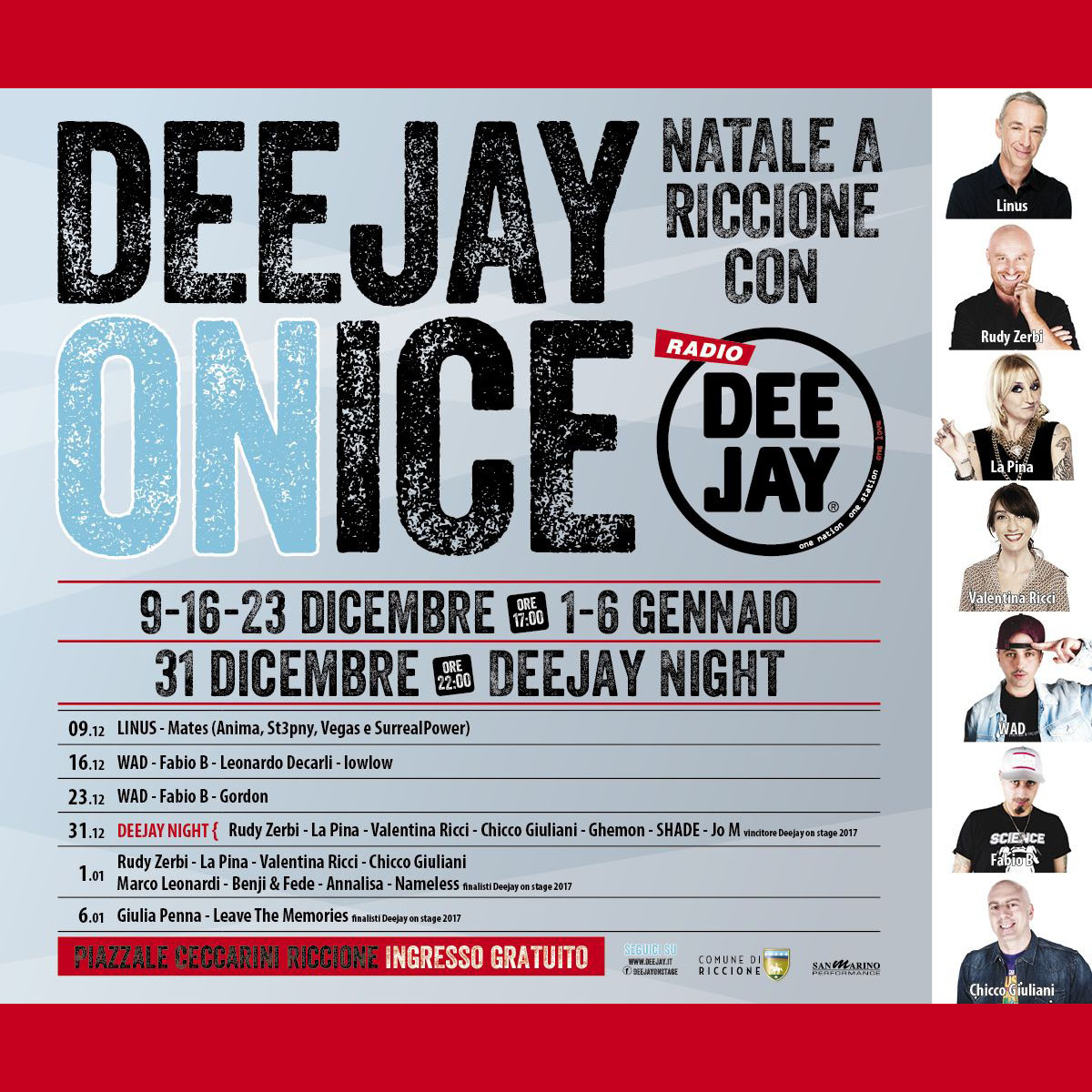 Deejay On Ice - Riccione Capodanno 2018