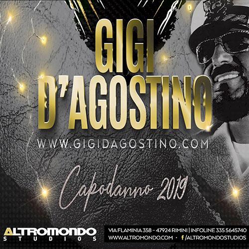 Capodanno 2019 con Gigi D'Agostino Altromondo Studios Rimini