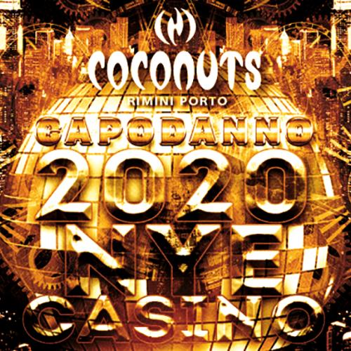 Coconuts Capodanno 2020 Rimini