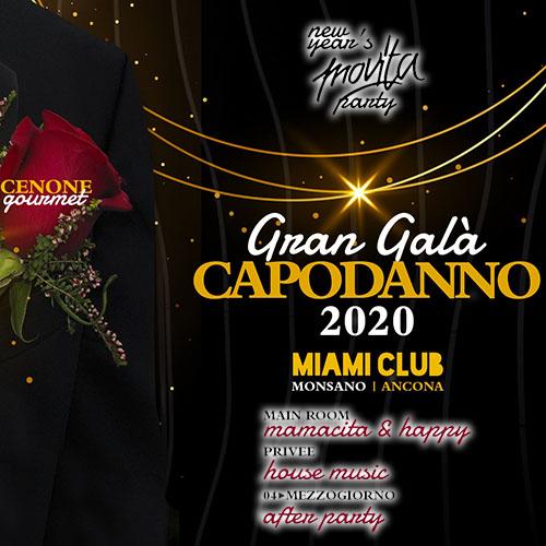 Miami Club Capodanno 2020